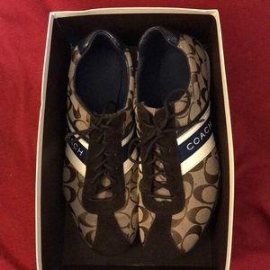 Coach Sneakers (worn twice)